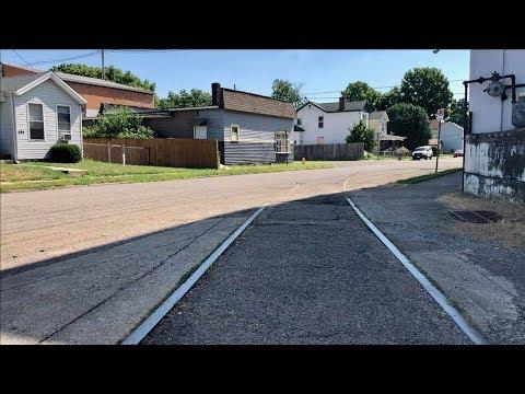 Abandoned Street Running Railway Tracks!