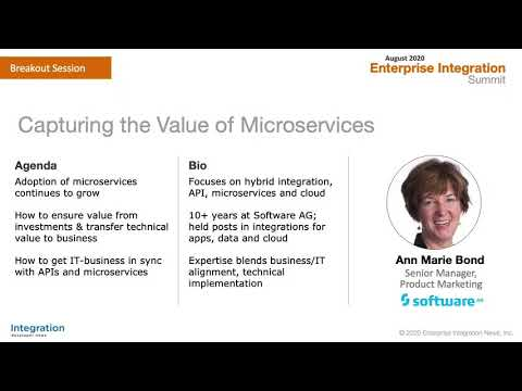 Capturing the Value of Microservices: Software AG Webinar