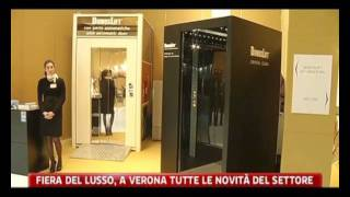 DomusLift MADE WITH SWAROVSKI® ELEMENTS - Speciale Fiera Luxury and Yachts - SKY TG24