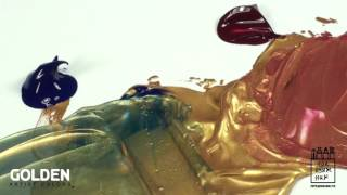 Краски акриловые GOLDEN Iridescent (на русском)