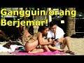 selimutin bule yang berjemur prank indonesia