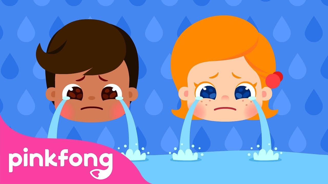 Por que? – Lágrima e Cores de Pele | Canções do Corpo Humano | Pinkfong Canções para Crianças