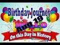 Birthday Journey August 19 New