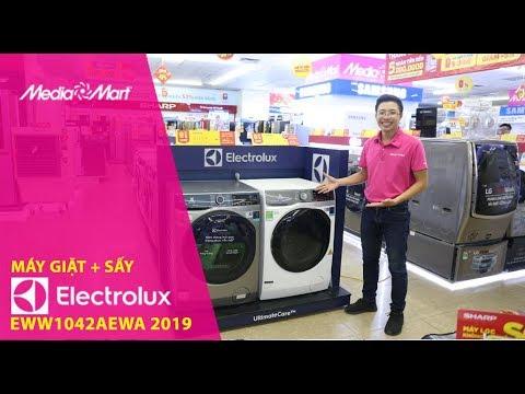 Máy giặt 10kg + Sấy 7kg Electrolux EWW1042AEWA – Giặt sấy 2 trong 1 tiện lợi