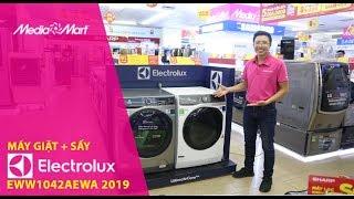 Máy giặt 10kg + Sấy 7kg Electrolux EWW1042AEWA - Giặt sấy 2 trong 1 tiện lợi