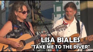 """Lisa Biales:  """"Take Me to the River"""" (Talking Heads cover) Live 7/1/21 Oxford, OH"""