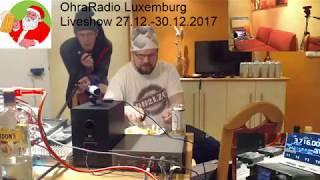 OhraRadio 2017 osa 15: 30/12/17 10:00 Luxemburg - 160m yhteyksiä/yö/aamulla aseman purku