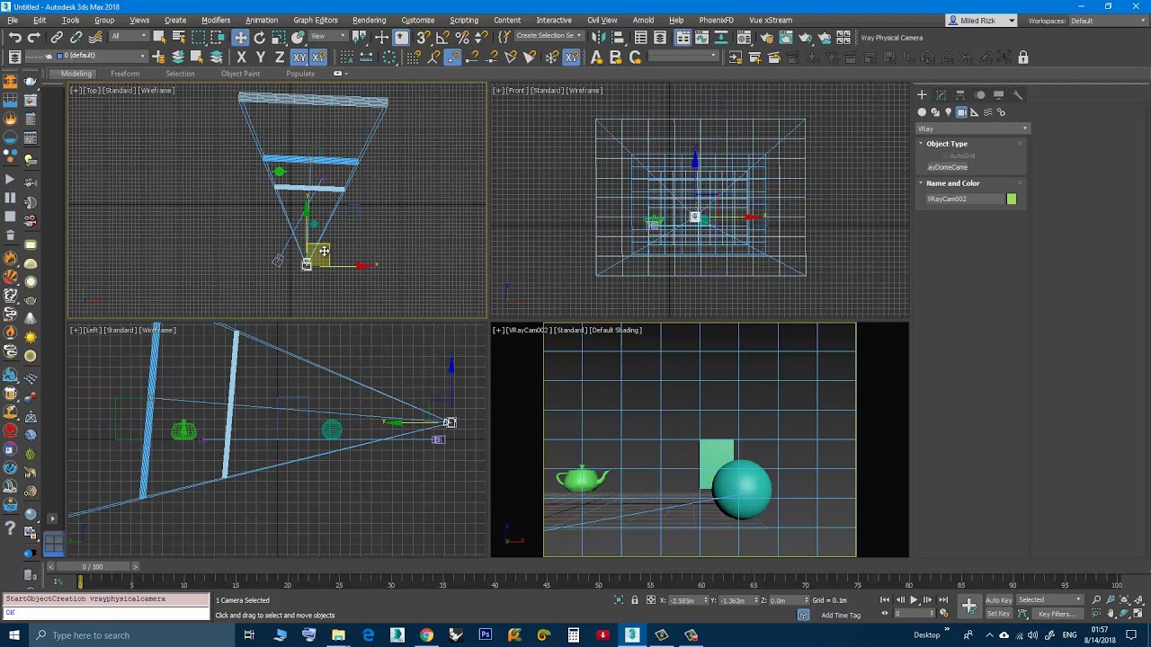 3DS Max - Create Vray Physical Camera - Plugin