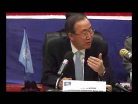 Discours de Ban Ki-moon au Burkina Faso lors de sa visite dans le Sahel