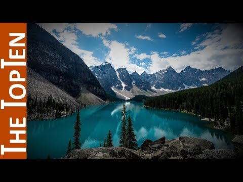 The Top Ten Largest Lakes of the World
