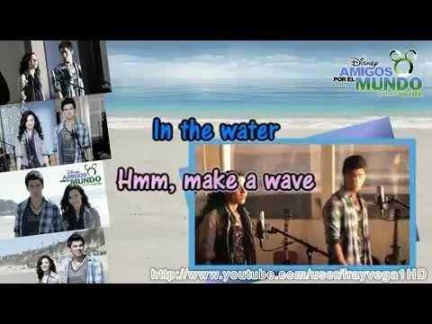 karaoke de make a wave - haz una ola