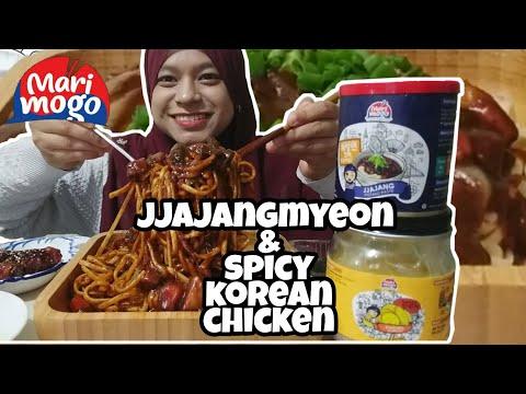 JJAJANGMYEON by MARIMOGO | Wow!.. Rasanya macam..... | Mukbang Malaysia