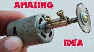 2 Amazing life hacks with Dc motor || Brilliant Ideas