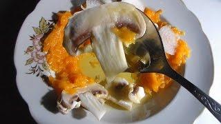 Салат из сырых шампиньонов. Для похудения