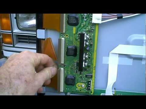 Plasma TV repair. Don