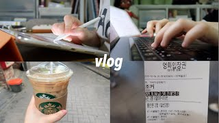 college vlog | my normal life as a college student in Korea