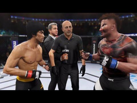 Bruce Lee Vs. Dangerous Mutant (EA Sports UFC 2)