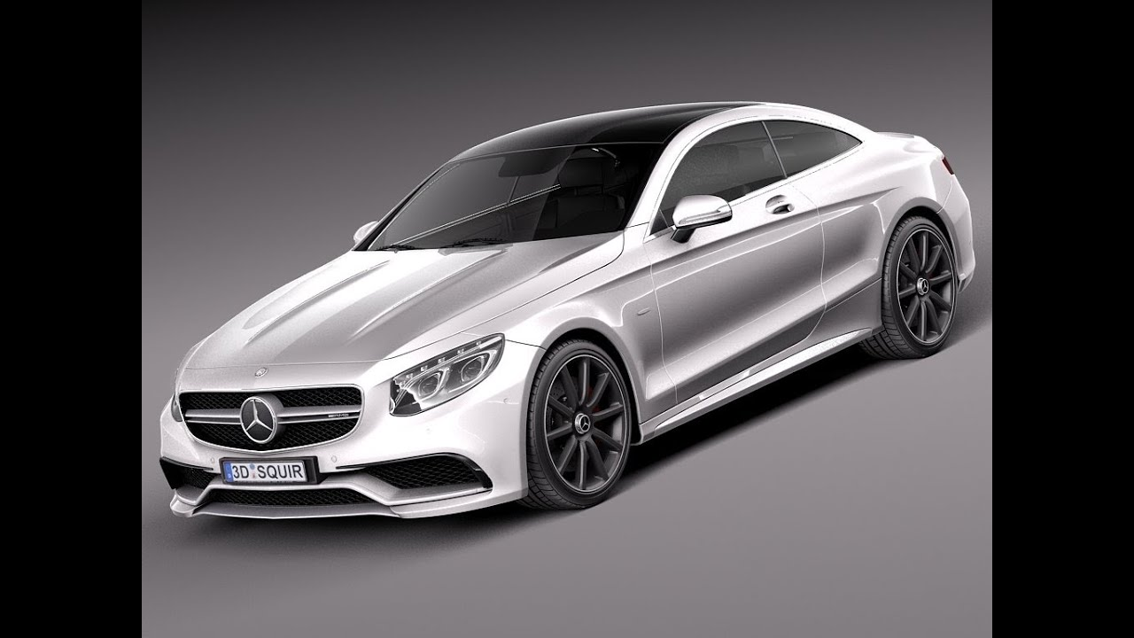 3d model mercedes benz s63 amg coupe 2015 at for Mercedes benz 2015 models