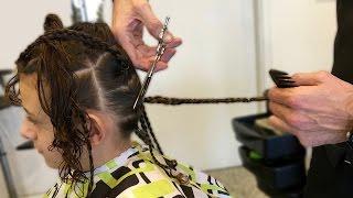 TAGLIO I CAPELLI CORTI 😱 SPECIALE 100K ISCRITTI - Li dono ai bambini che fanno la Chemioterapia 😢