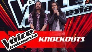 Boy vs AXL | Knockouts | The Voice Indonesia GTV 2018