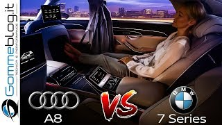 2019 Audi A8 vs 2020 BMW 7 Series - INTERIOR