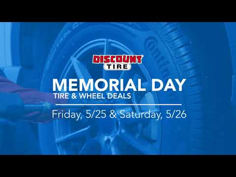 Memorial Day Promotion 2018 | Discount Tire :30