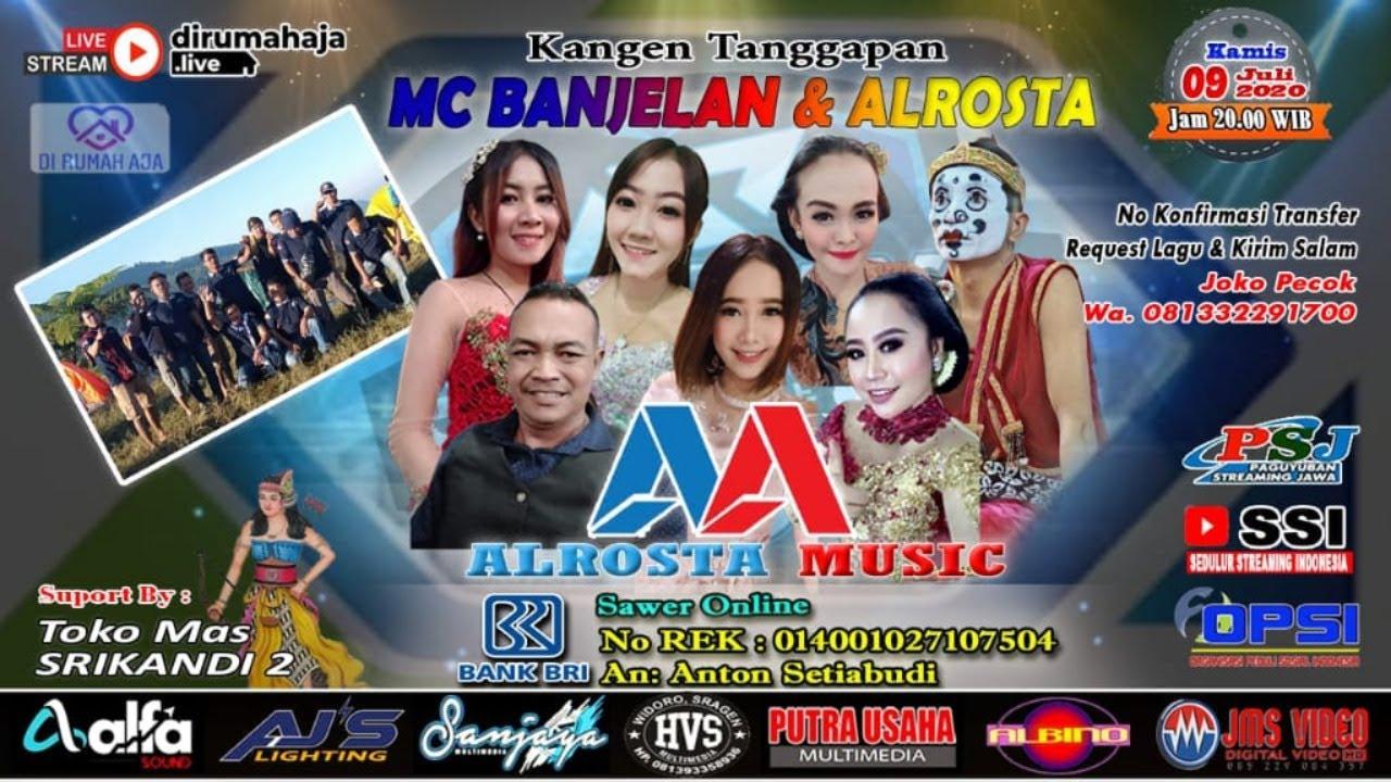 Live Kangen Tanggapan MC BANJELAN || ALROSTA MUSIC || ALFA SOUND