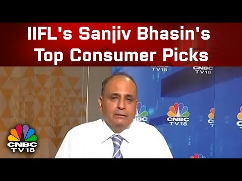 IIFL's Sanjiv Bhasin's Top Consumer Picks, View on YES Bank, JET Airways | CNCB TV18