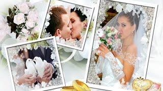 Свадебный коллаж из фото и рамки в Фотошопе Cs 6 (Видео урок)