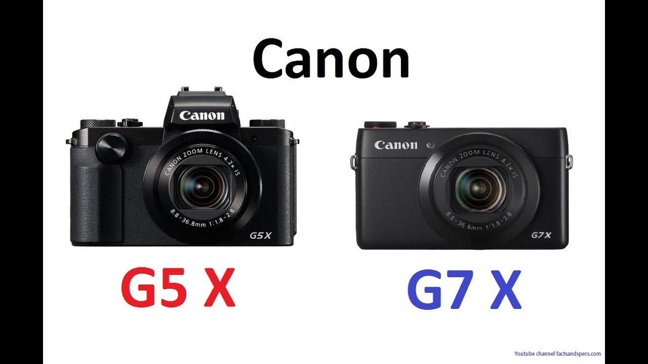 canon powershot g5 x vs canon powershot g7 x youtube. Black Bedroom Furniture Sets. Home Design Ideas