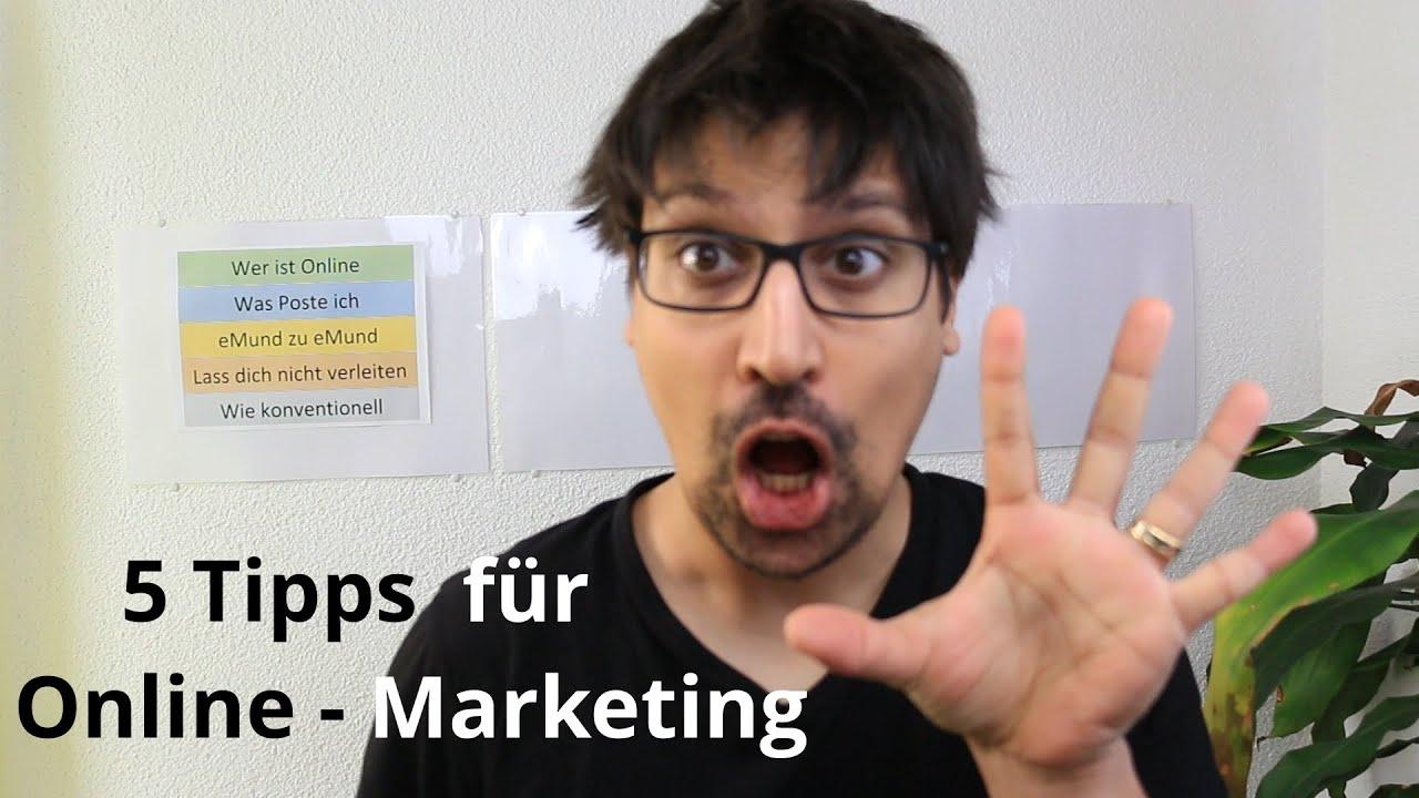 5 Tipps für das Online-Marketing