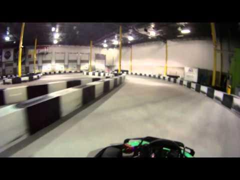 Go Kart Helmet Cam - Speed Raceway - Denver, Colorado