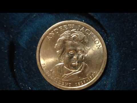 Presidential Dollar Coin: 2008 Andrew Jackson