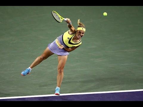 2017 BNP Paribas Open Semifinals | Svetlana Kuznetsova vs Karolina Pliskova | WTA Highlights