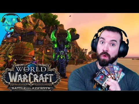 Redeeming 7 Ultra Rare WoW Trading Card Game Toys! Worth Or Not Worth?! World Of Warcraft