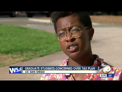 UCSD graduate students concerned over tax plan