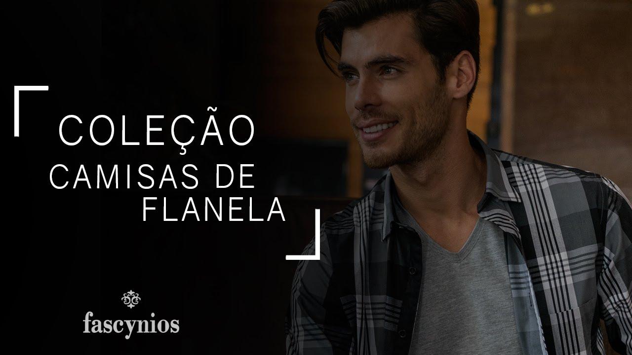 f25d41bb64 Camisas de Flanela - Camisaria Fascynios Oficial - YouTube