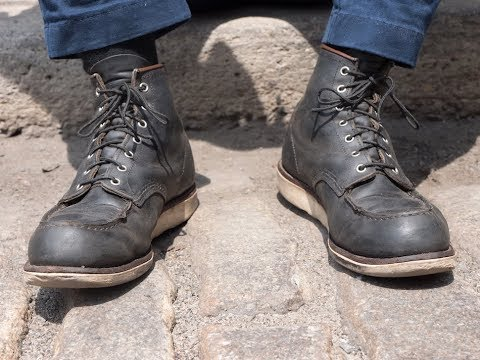 elegantes Aussehen reich und großartig beispiellos Review: Red Wing Moc Toes, 3 YEARS OLD - Do These Boots Hold Up?