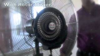 Dairy Farming - Installing a Cooling Fan for the Animals
