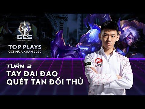 Tay đại đao quét tan đối thủ | Top Plays GCS mùa Xuân 2020 Tuần 2