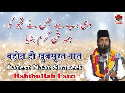 Habibullah Faizi शानदार नात शरीफ || Wahi Rab Hai Jisne Tujhko Islamic Naat Sharif