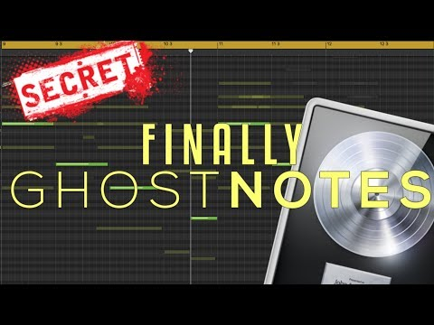 NO MORE SECRETS!!! Music Theory Hack Using Ghost Notes In Logic Pro X
