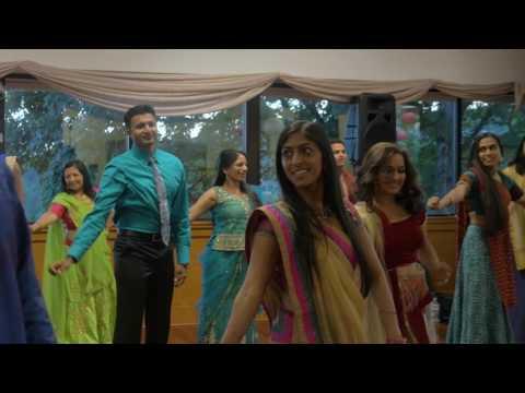 Meit & Khushbu's Garba - LA Friends Group Dance
