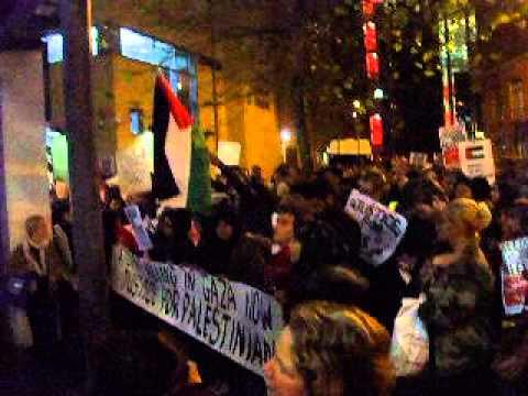 Free Gaza:  Leeds Demo 20 Nov 2012 pt 3