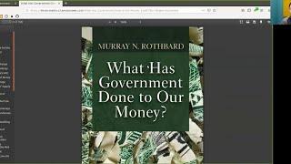 Rothbard on Hodling ~ Bitcoin to the Max