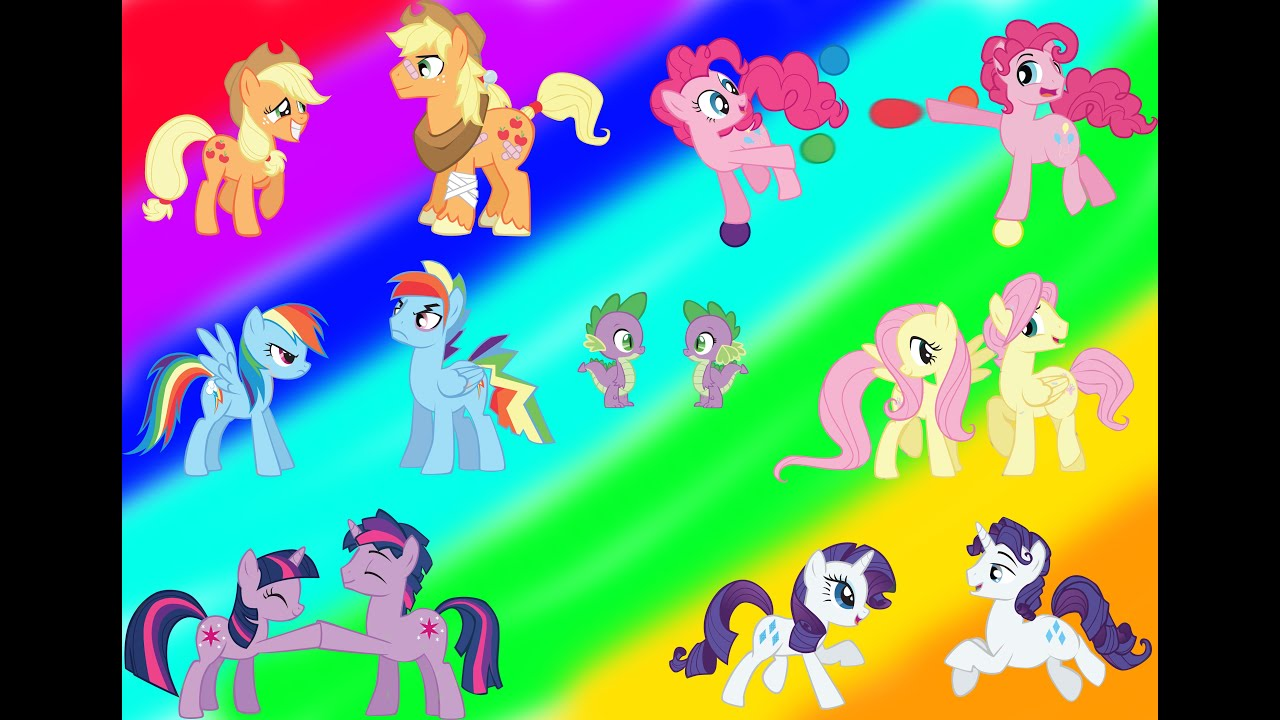 My Little Pony Transforms Gender Swap Mane 6 Everypony