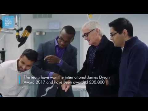 International winner James Dyson Award 2017: the sKan