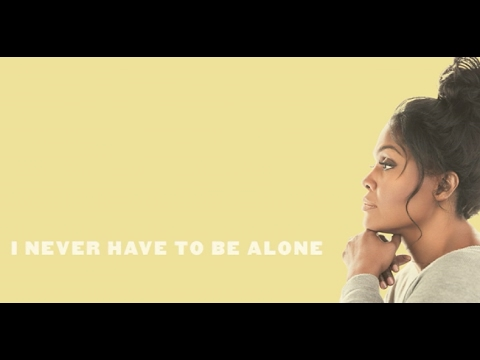 Cece Winans Never Have To Be Alone Lyric Video 30 Second Clip