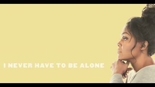 "CeCe Winans - ""Never Have To Be Alone"" - Lyric Video (30 Second Clip)"