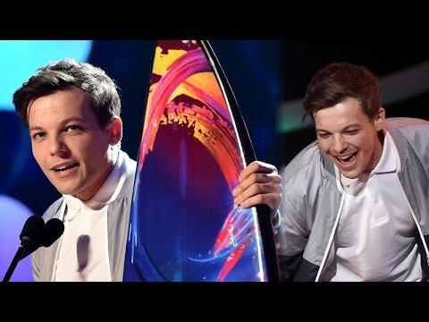 "Louis Tomlinson WINS ""Choice Male Artist"" at 2018 Teen Choice Awards"